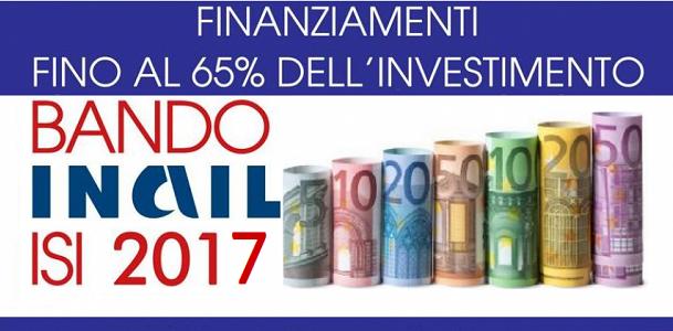 Pubblicato Nuovo Bando INAIL 2017 – Incentivi per la Riduzione e/o Abbattimento dei Rischi Aziendali